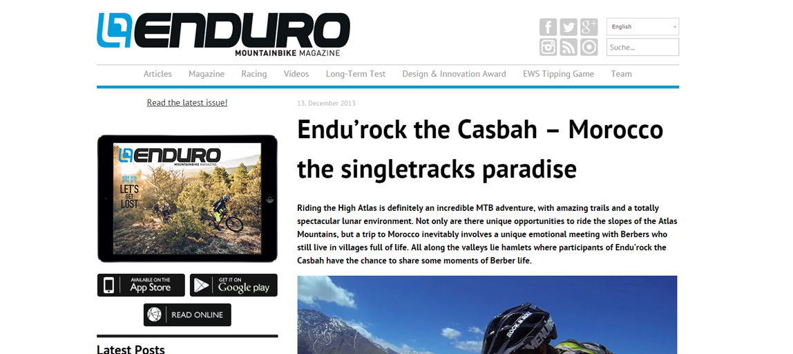 Enduro Mountainbike Magazine - Décembre 2013