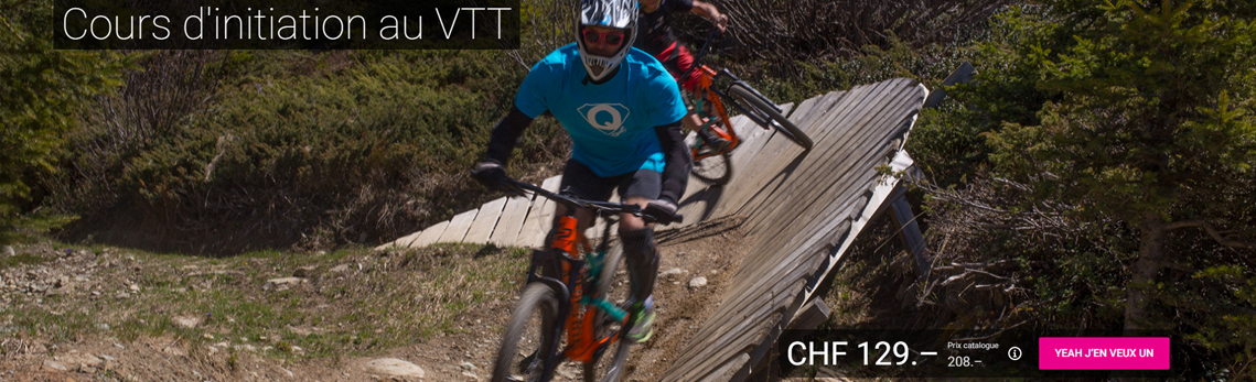Mountainbike skill courses on Qsport