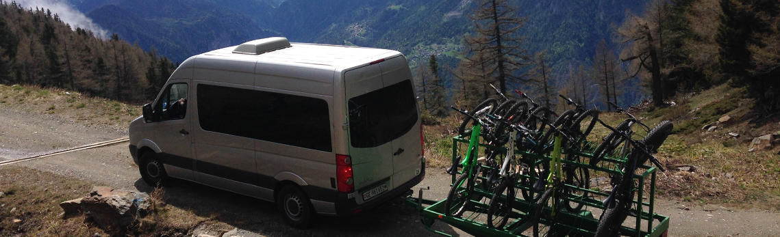 Upcoming enduro shuttles in Wallis