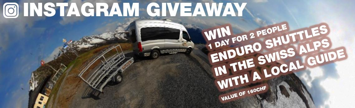 Win a guided shuttle day for 2 people