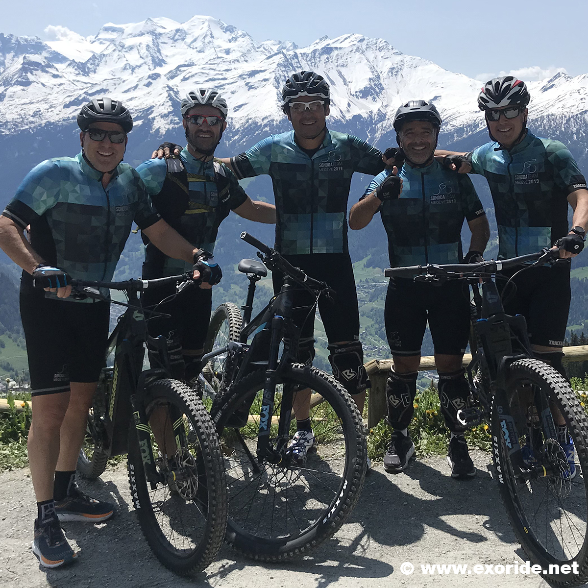 randonnees-bike groupe valais avec guide